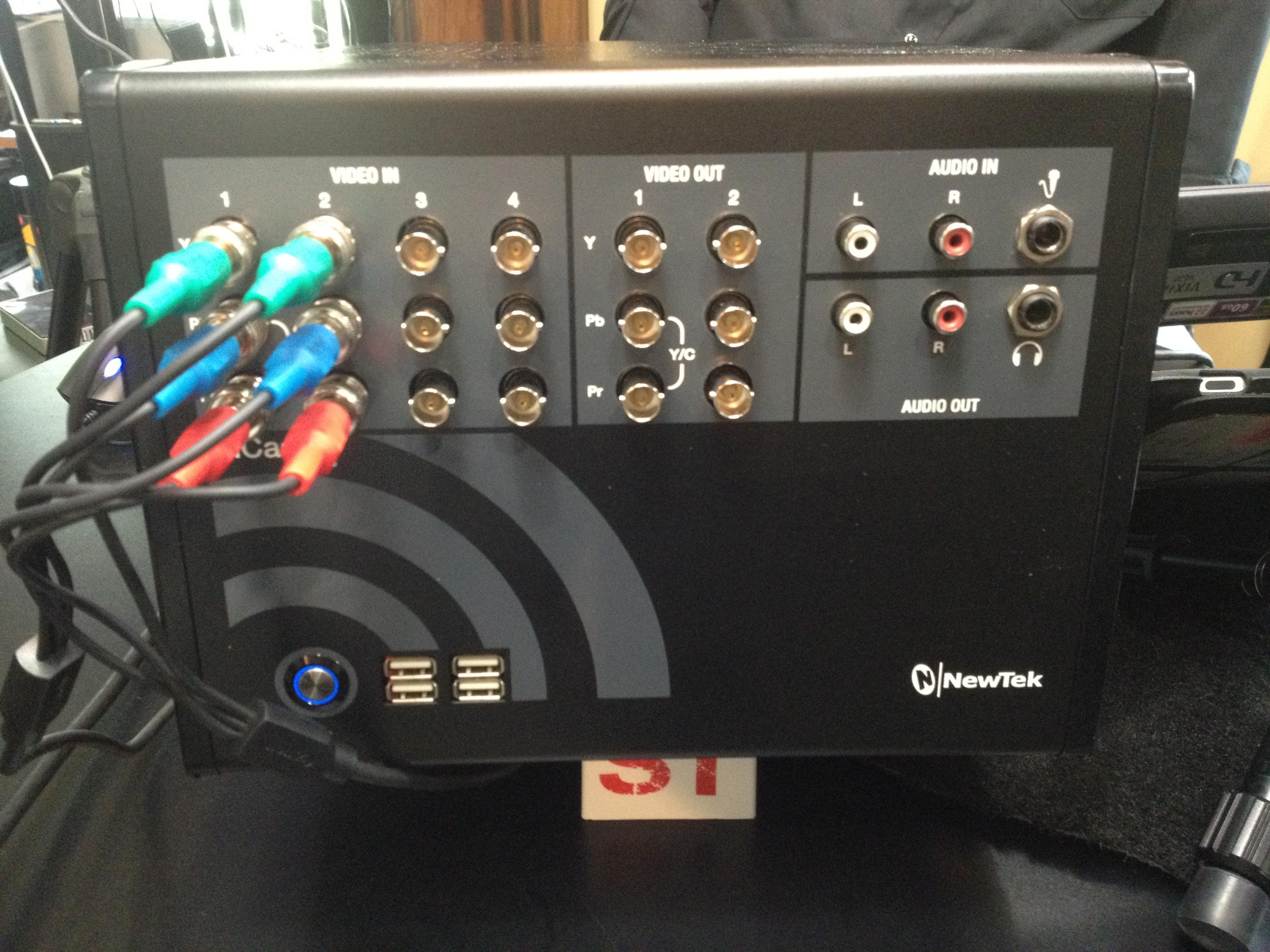 NewTek TriCaster TC40 Front Panel Image