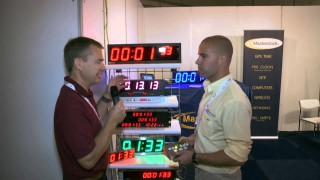 IBC 2013 – Masterclock: Digital clocks for the studio and gallery/control room