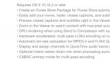 Apple updates  Final Cut Pro X, Motion and Compressor