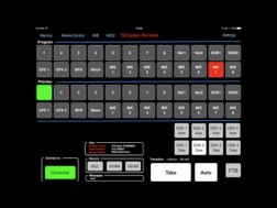 StudioTech's TriCaster Remote – an app for iOS and Android